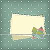 Kartka świąteczna z jodły | Stock Illustration