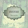 ID 3110651 | Archiwalne karty grunge zaproszenie | Stockowa ilustracja wysokiej rozdzielczości | KLIPARTO