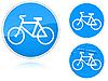 Fahrradweg - Verkehrsschild