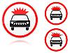 Transport von Sprengstoffen und brennbaren Stoffen verboten