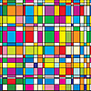 ID 3013109 | Hintergrund mit bunten quadratischen Fliesen | Stock Vektorgrafik | CLIPARTO
