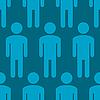 Hintergrund mit Silhouetten von Männern | Stock Vektrografik