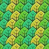 Hintergrund mit grünem Blatt | Stock Vektrografik