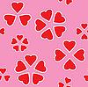 Dni Valentine tła bez szwu | Stock Vector Graphics