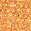 Hintergrund mit Orangenscheiben