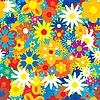 ID 3013526 | 원활한 꽃 배경 | 벡터 클립 아트 | CLIPARTO