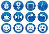 ID 3013650 | Icons für Gadget | Stock Vektorgrafik | CLIPARTO