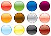 farbige runde Tasten