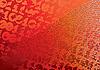 abstrakter orangefarbener digitaler Hintergrund