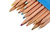 ID 3032738 | Zestaw kolorowych ołówków drewna | Foto stockowe wysokiej rozdzielczości | KLIPARTO