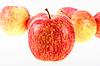 ID 3032780   Grupa czerwono-żółtych jabłek   Foto stockowe wysokiej rozdzielczości   KLIPARTO