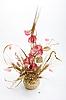 ID 3032829 | Strauß mit rosa Blumen und Weizen | Foto mit hoher Auflösung | CLIPARTO