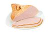 ID 3032855 | Geschnetzeltes Fleisch auf weißem Teller | Foto mit hoher Auflösung | CLIPARTO