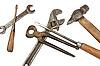 ID 3032894 | Set of dirty old tools | Foto stockowe wysokiej rozdzielczości | KLIPARTO