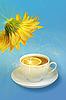 ID 3032908 | Zitronen-Tee und gelbe Blume | Foto mit hoher Auflösung | CLIPARTO