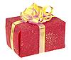 ID 3033014 | Plac Czerwony pudełko z kokardą | Foto stockowe wysokiej rozdzielczości | KLIPARTO