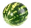 ID 3036761 | Полосатый зеленый арбуз | Фото большого размера | CLIPARTO