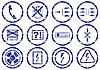 Gadżet zestaw ikon | Stock Vector Graphics