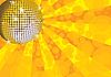 ID 3064915 | Żółty lustro disco ball | Klipart wektorowy | KLIPARTO