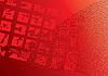 abstrakter roter digitaler Hintergrund