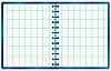 Blauer Notizblock