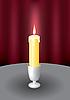 Kerze und Feuer