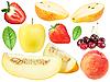 ID 3141688 | Set von frischem Obst und berryes | Foto mit hoher Auflösung | CLIPARTO