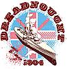 ID 3014794 | Dreadnought 1904 | Stock Vektorgrafik | CLIPARTO