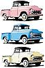 Amerikanische Pickup-Autos