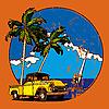 hawaiische Vignette