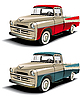 50s style pickup | Stock Vector Graphics