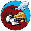 Przewóz ładunków | Stock Vector Graphics