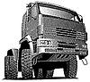ID 3015211 | Ciężarówka grawerowanie | Klipart wektorowy | KLIPARTO