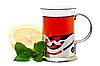 ID 3013753 | Tea in glass holder | Foto stockowe wysokiej rozdzielczości | KLIPARTO