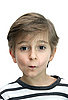 소년의 초상화 | Stock Foto