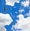 ID 3013829 | Two gliders in the sky | Foto stockowe wysokiej rozdzielczości | KLIPARTO