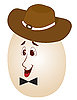 ID 3014139 | Пасхальное яйцо в шляпе | Фото большого размера | CLIPARTO