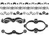ornamentale Design-Elemente