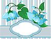ID 3014177 | Blumenmuster mit Platz für Text | Stock Vektorgrafik | CLIPARTO