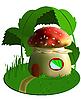 ID 3014329 | Fairy house grzyby | Klipart wektorowy | KLIPARTO