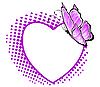 Muster im Form von Herzen
