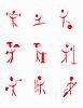 ID 3014353 | Kleine rote Menschen | Stock Vektorgrafik | CLIPARTO