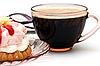 ID 3014624 | Filiżankę kawy i kawałek ciasta | Foto stockowe wysokiej rozdzielczości | KLIPARTO