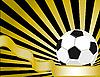 Fußball-Hintergrund