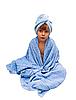 ID 3018885 | Chłopiec w ręcznik | Foto stockowe wysokiej rozdzielczości | KLIPARTO