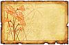 ID 3019263 | Alte Postkarte mit floralen Mustern | Illustration mit hoher Auflösung | CLIPARTO