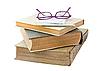 ID 3019329 | Alte Bücher mit Brille | Foto mit hoher Auflösung | CLIPARTO