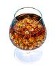 ID 3024379 | Brandy z lodem w szklance | Foto stockowe wysokiej rozdzielczości | KLIPARTO