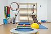 Dziecko na siłowni | Stock Foto