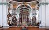 St. Gallen Kathedrale Innenraum. Schweizer Wahrzeichen, | Stock Photo